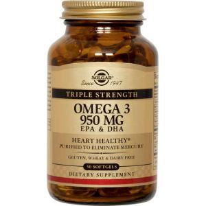 Omega 3 Triple Concentración · Solgar