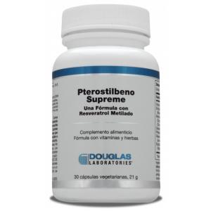 Pterostilbeno Supreme · Douglas · 30 cápsulas