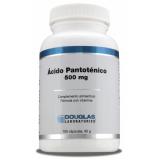 Ácido Pantoténico 500 mg · Douglas · 100 cápsulas
