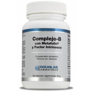 Complejo-B con Metafolin® y Factor Intrínseco · Douglas · 60 cápsulas