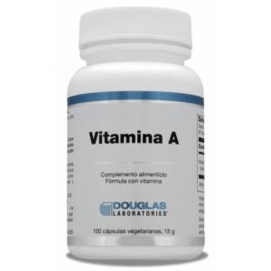 Vitamina A 4.000 UI · Douglas · 100 cápsulas