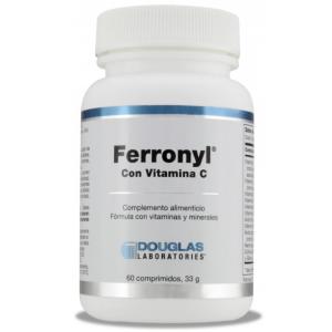 Ferronyl® con Vitamina C · Douglas · 60 comprimidos