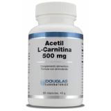 Acetil-L-Carnitina 500 mg · Douglas · 60 cápsulas