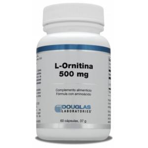 L-Ornitina 500 mg · Douglas · 60 cápsulas