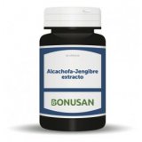 Alcachofa-Jengibre Extracto · Bonusan · 60 cápsulas