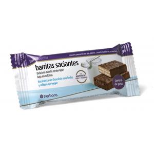 Barrita Saciante Rellena de Yogurt · Herbora · 24 unidades