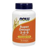 Super Omega 3-6-9 · NOW · 90 perlas