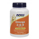 Omega 3-6-9 Vegetal · NOW · 100 cápsulas