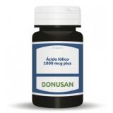 Ácido Fólico Plus 1.000 mcg · Bonusan · 90 comprimidos