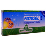 Fisiosol 3 - Mn-Co · Specchiasol · 20 ampollas