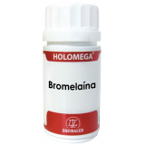 Holomega Bromelaína · Equisalud · 50 cápsulas