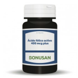 Ácido Fólico Activo 400 mcg Plus · Bonusan · 90 comprimidos