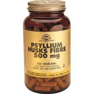 Fibra de Cáscara de Psyllium · Solgar · 200 cápsulas