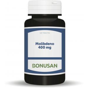 Molibdeno 400 mcg · Bonusan · 120 comprimidos