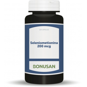 Seleniometionina 200 mcg · Bonusan · 120 cápsulas