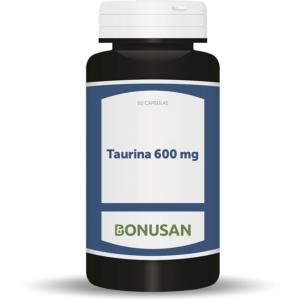 Taurina 600 mg · Bonusan · 60 cápsulas