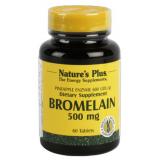Bromelaina 500 mg · Nature's Plus · 60 comprimidos