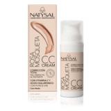 CC Cream Rosa Mosqueta FPS 30 · Color Medio · Natysal · 50 ml