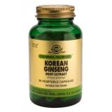 Ginseng Coreano Extracto · Solgar · 60 cápsulas