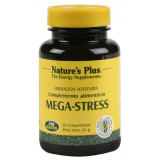Mega Stress · Nature's Plus · 30 comprimidos