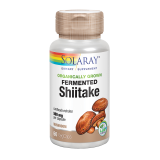 Shiitake Fermentado · Solaray · 60 cápsulas