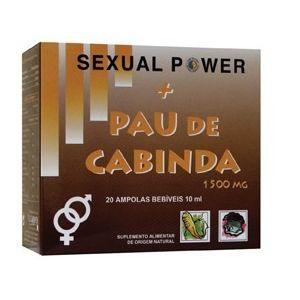 Sexual Power + Pau de Cabinda · Marini