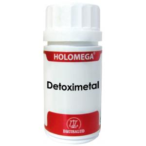 Holomega Detoximetal · Equisalud · 50 cápsulas