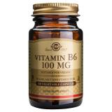 Vitamina B6 100 mg · Solgar · 100 cápsulas