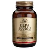 DLPA 500 mg · Solgar · 50 cápsulas