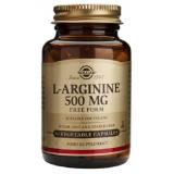 L-Arginina 500 mg · Solgar · 50 cápsulas