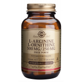 L-Arginina / L-Ornitina · Solgar · 50 cápsulas