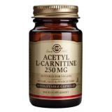 Acetil-L-Carnitina 250 mg · Solgar · 30 cápsulas