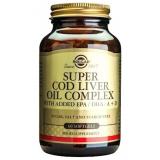 Super Cod Liver Oil Complex · Solgar · 60 perlas