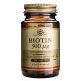 Biotina 300 mcg · Solgar · 100 comprimidos