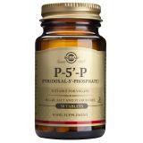 Piridoxal-5-Fosfato (P5P) 50 mg · Solgar · 50 comprimidos