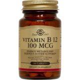 Vitamina B12 100 mcg · Solgar · 100 comprimidos