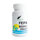 Fepa-BIsgli Hierro · Fepadiet · 60 cápsulas