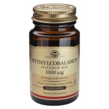 Vitamina B12 1.000 mcg (Metilcobalamina) · Solgar · 30 comprimidos