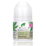 Desodorante Aceite de Cañamo · Dr Organic · 50 ml