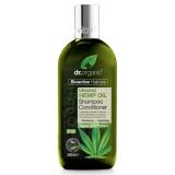 Champu & Acondicionador Aceite de Cañamo · Dr Organic · 265 ml
