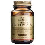 Ultimate B+C Complex · Solgar · 30 comprimidos