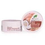 Crema Souffle Corporal Aceite de Coco Virgen · Dr Organic · 200 ml