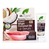 Suero Labial Aceite de Coco Virgen · Dr Organic · 10 ml