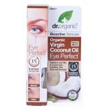Contorno de Ojos Aceite de Coco Virgen · Dr Organic · 15 ml