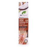 Crema para Manos Aceite de Coco Virgen · Dr Organic · 100 ml