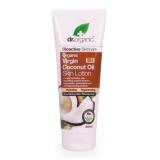 Locion Corporal Aceite de Coco Virgen · Dr Organic · 200 ml