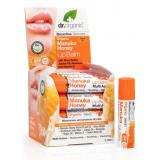 Balsamo Labial Miel de Manuka · Dr Organic · 5,7 ml