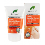 Crema para Pies y Talones Miel de Manuka · Dr Organic · 125 ml