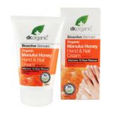 Crema para Manos y Uñas Miel de Manuka · Dr Organic · 125 ml
