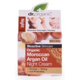 Crema de Noche Aceite de Argan · Dr Organic · 50 ml